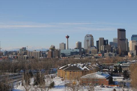 Calgary Winter Skyline