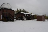 Overall view of the RASC - Calgary Centre's Wilson Coulee Observatory.
