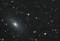 M110 - elliptical galaxy in Andromeda, a satellite galaxy of M31. 360 seconds each LRGB with MAK127 from SSSP