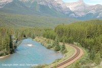 Shot of Morant's Curve - no train.