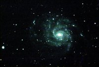 M101 - spiral galaxy in Ursa Major. 450 seconds each LRGB image with Mak 127. Taken at SSSP.